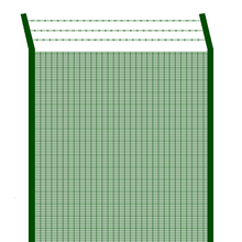 358 welded mesh security prison fence