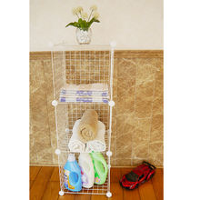 wholesale wire grid iron rack/ shelves, shoe shelf/ rack wall mounted book shelf/small bookshelf