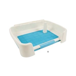 Wholesale Plastic Doggie Indoor Pet Potty Tray Park Corner Dog Toilet