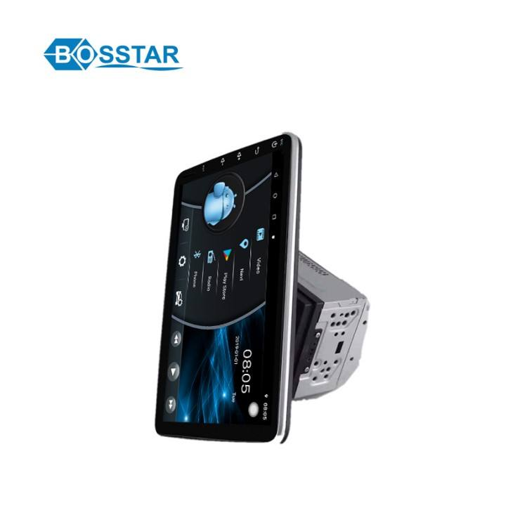 Bosstar 10 Inch Adjustable Double Din Android Sistem Universal Mobil DVD Stereo Player dengan Gps Navigasi <span class=keywords><strong>Radio</strong></span>