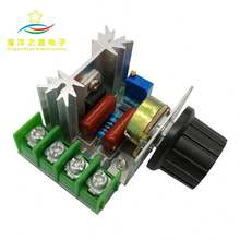 high-power Imports of 2000w 220V high power thyristor dimmer SCR electronic voltage regulator for temperature control