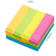 Memo Pads Sticky Notes Neon Assorted Colors Small Sticky Self-Stick Notes 76mm X 3 Inch Variety of Colors 1 Pad/OPP Pack 100 Sheets/Pad.