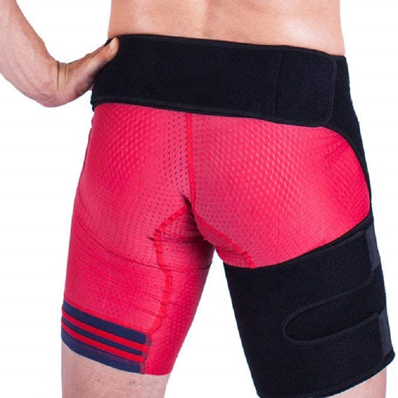 Amazon Best Selling Adjustable Neoprene Thigh Wrap Hip Groin Support for Strain Sport