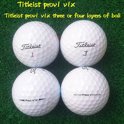 Wholesale 2 3 4 5 pieces branded used golf balls second hand golf practice training ball