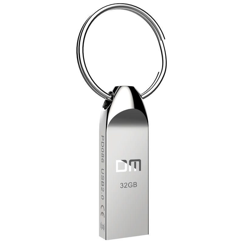 DM OEM Pendrive 64GB Metal USB 3.0 32GB Pendrive
