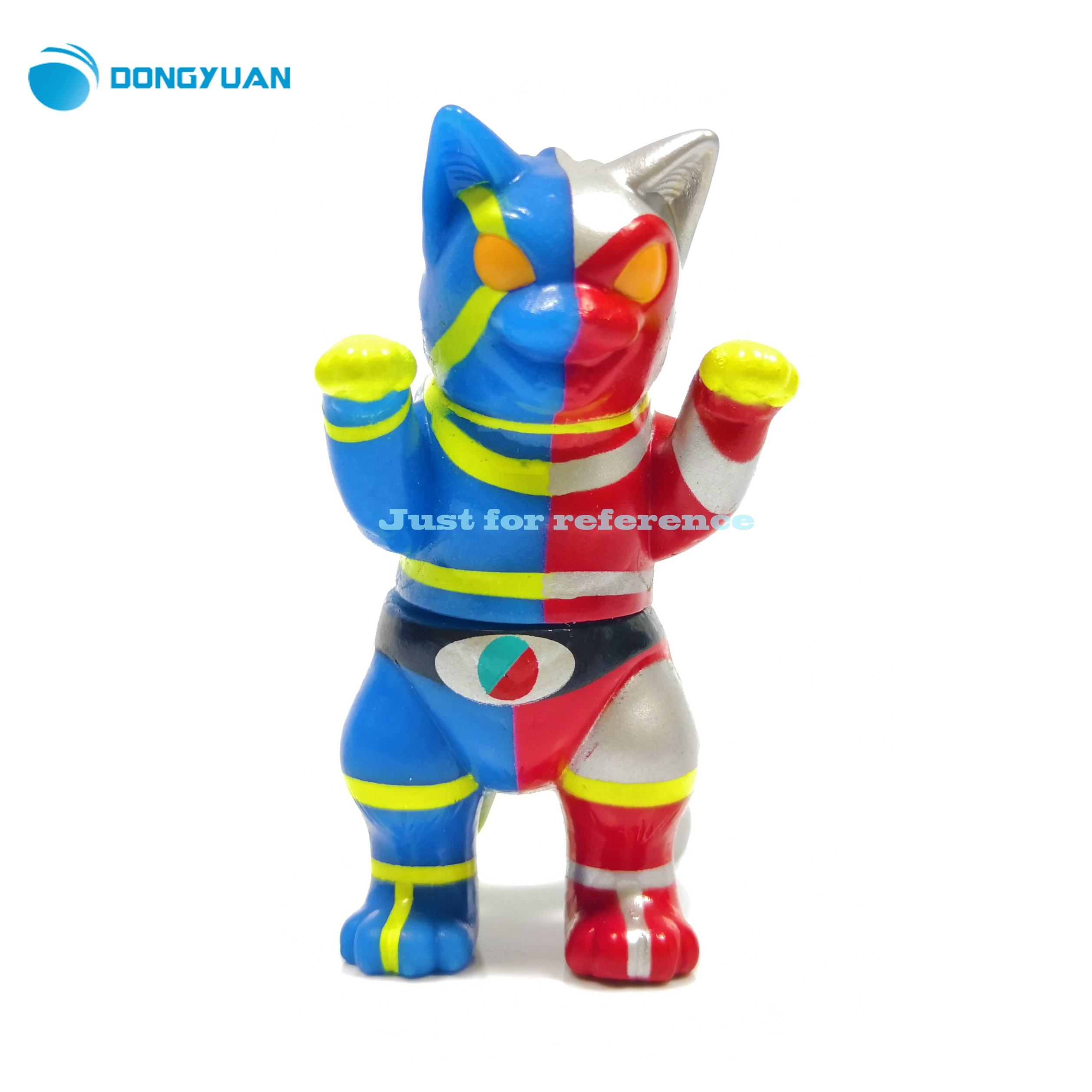 2020 High quality Custom Sofubi Toys Make Your Own Vinyl Toys japanese plastic Cartoon Sofubi