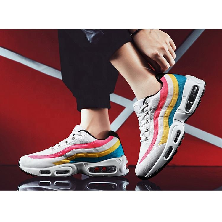 Popular Sports Women's Casual Female Shoe Fashion Sneakers Wholesale China Ladies Running Air Cushion Woman Sport Shoes
