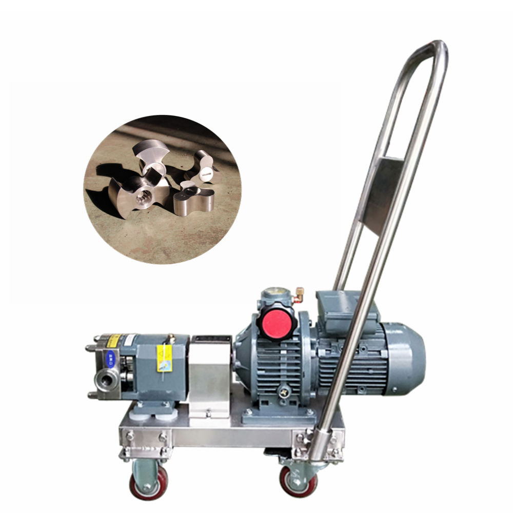 Food grade stainless steel sugar syrup fruit puree transfer transfer pumps