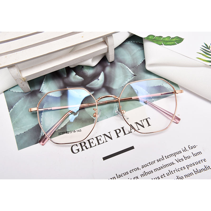 2020 Unisex Design Optical Glasses Metal Rimless Frames Gentleman Eyewear