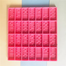B628 DIY domino resin craft mold domino card mold silicone mold for domino card hand making
