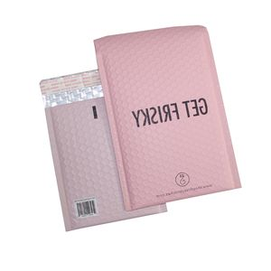 High Quality Custom Matte Pink Metallic Bubble Mailer Light Color Padded Envelopes Alibaba China Supplier