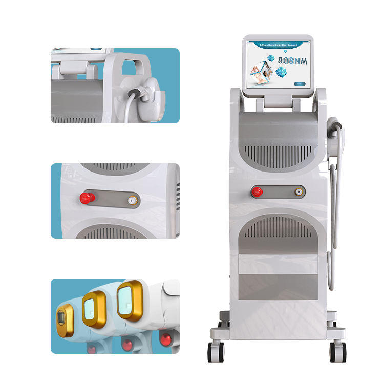 Beautemax 2020 Innovation 808 nm diode laser hair removal skin rejuvenation mini machine at home