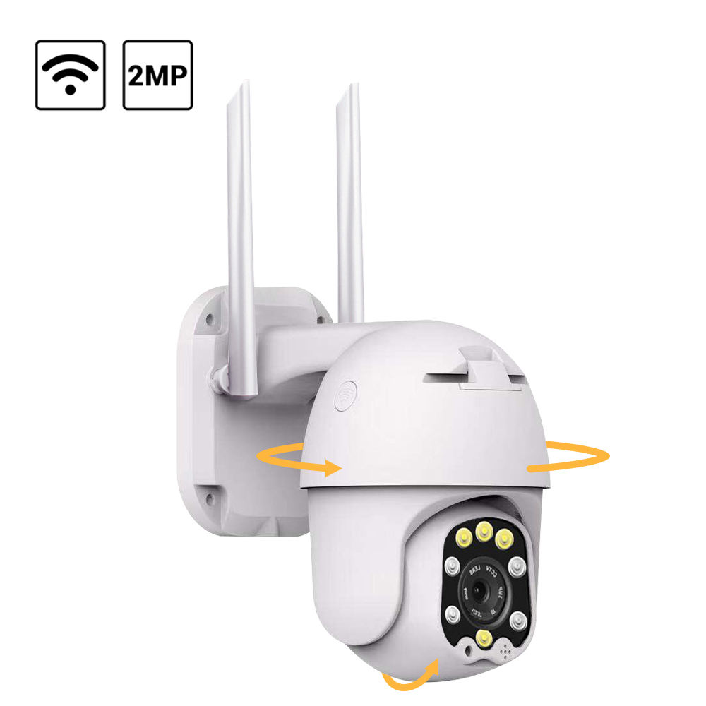 Anran 1080P Draadloze Wifi Outdoor Dome Cctv <span class=keywords><strong>Camera</strong></span> 2MP Twee-weg Audio Surveillance Onvif Ptz Ip <span class=keywords><strong>Camera</strong></span>