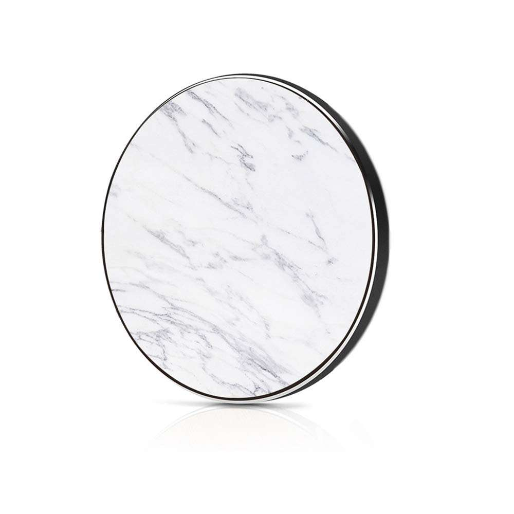 2020 New Product 10W QI Fast Wireless Charging Pad Marble
