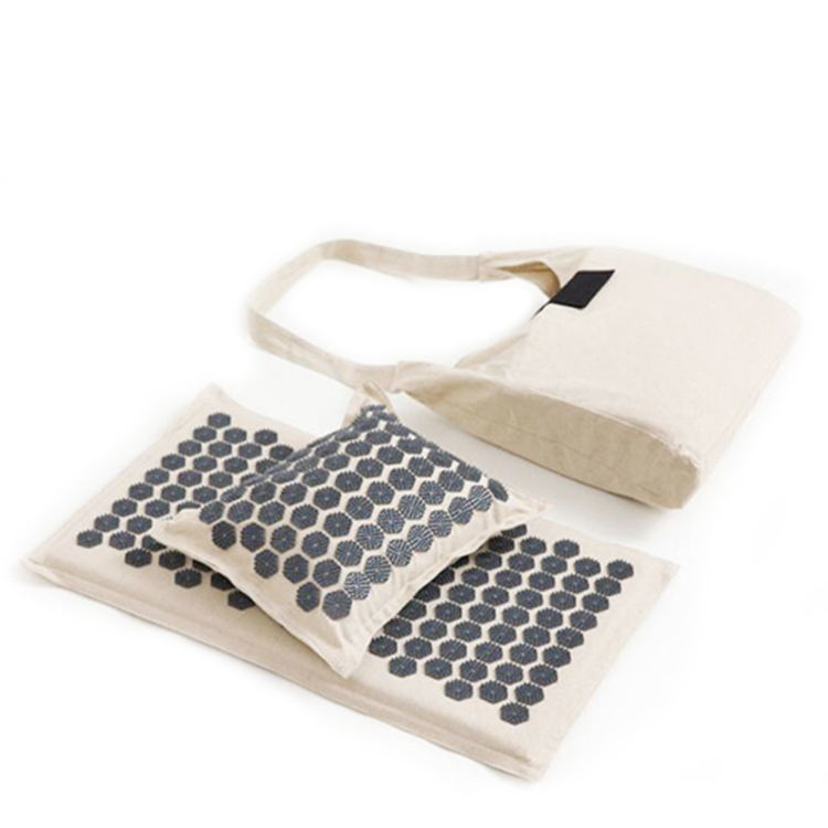 High Quality Massage Set Acupressure Pillow Mat With Carry Bag