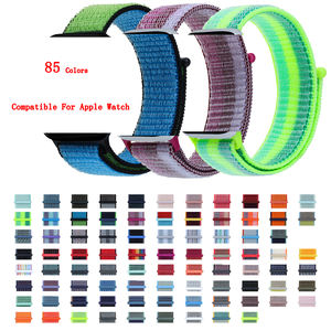 For Apple Watch Band, Moq 2pcs Nylon Band For Iwatch Band Series 6 5, 22mm Band For 38/40mm Iwatch 24mm Band For 42/44mm Iwatch