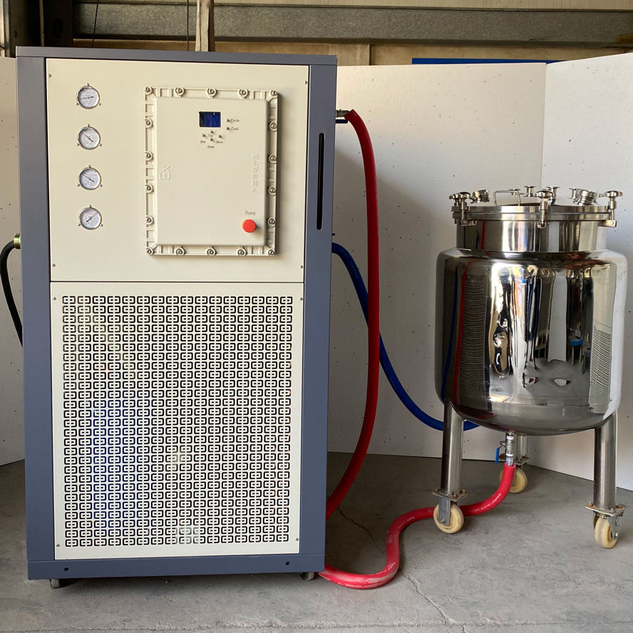 Hemp Extraction Machine Ethanol Stainless Steel Chemical Mixing Tank Reactor Jacketed Extraction Vessel with Agitator