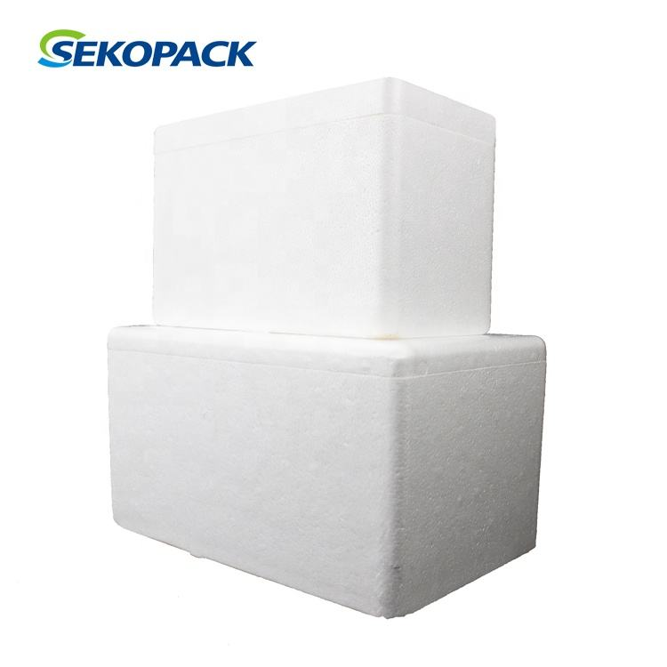 EPS polyfoam foam shipping containers with cardboard boxes