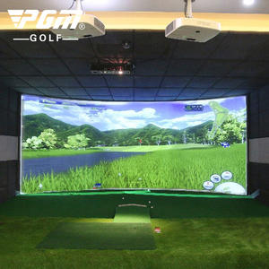 Higthly China Golf Simulator For Indoor Driving Range Korean System