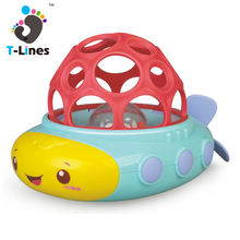 Popular rubber floating submarine vinyl boat bath toy for baby