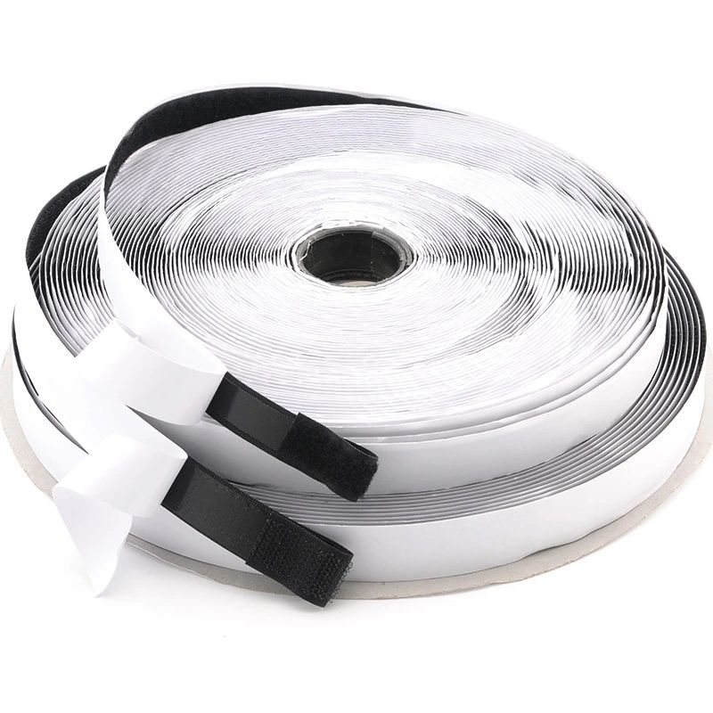 Eco-Friendly Nylon Fastener Self Adhesive Tape Injection 3M Hook and Loop Velcroes Strap