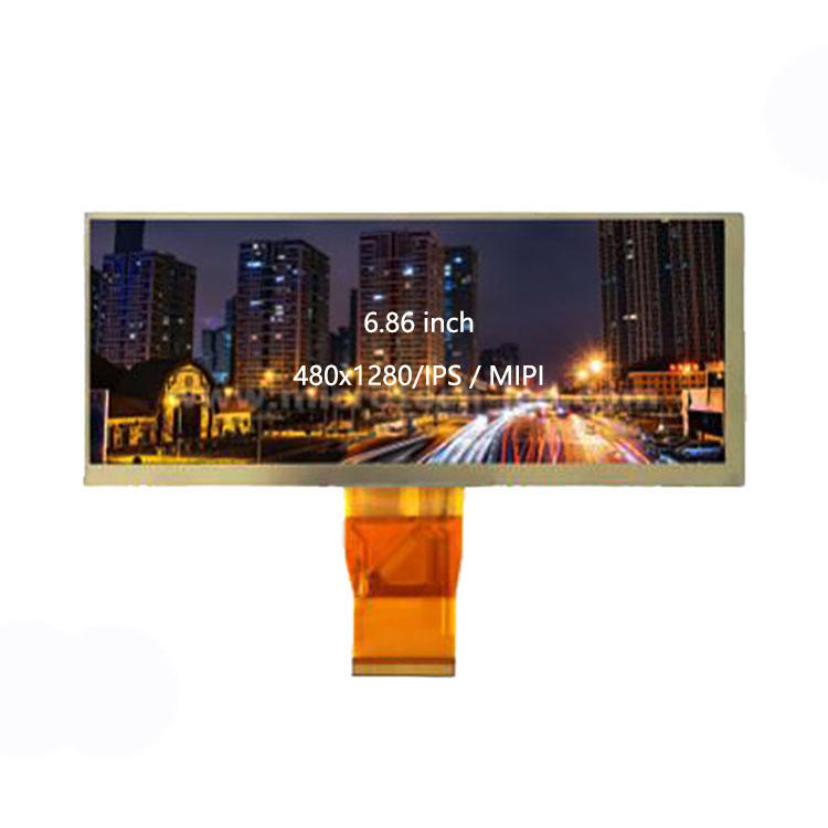WT686-B4003 RFID 200 Brightness 6.86 Inch IPS MIPI LCD Touch Screen 480x1280