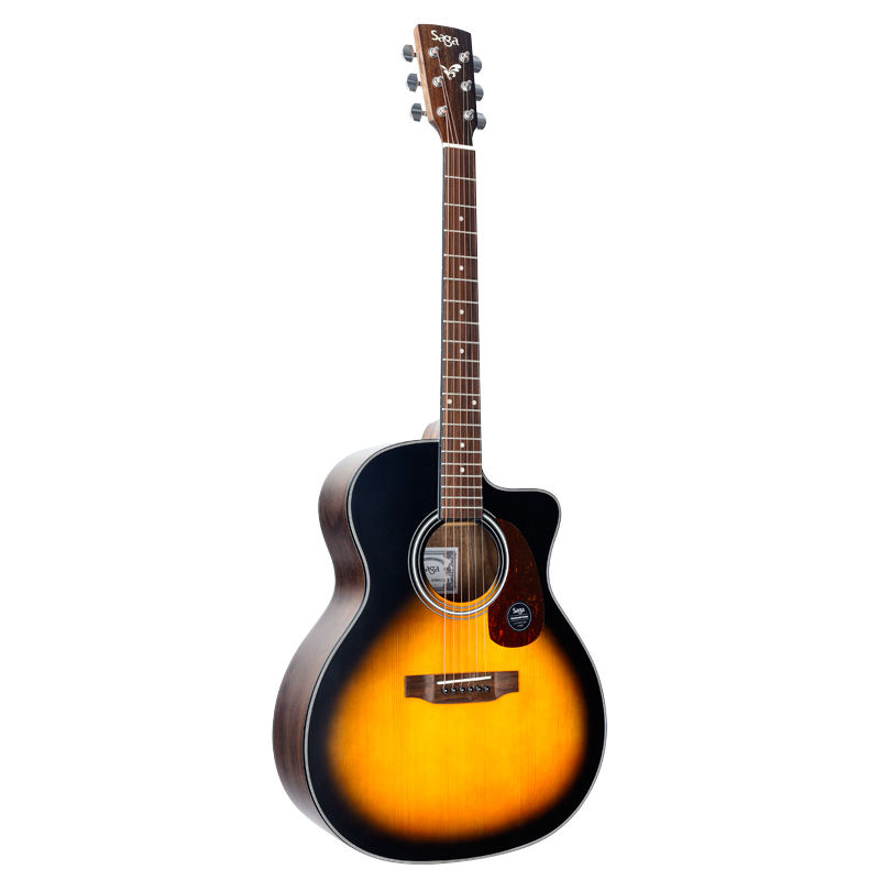 SAGA hot 800 series handmade music instrument 40/41 inch Acoustic guitars easy pickup for beginners at very cheap price