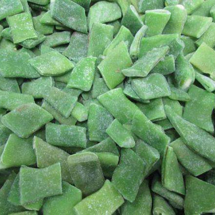 HACCP KOSHER HALAL BRC FDA SEDEX Quality New season China frozen Romano Beans