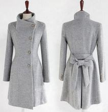 2019 Korean Women's Cashmere Coat Female Autumn Long Slim Cardigan Especially Women Winter Long Coats Thick Warm Feminine Coat