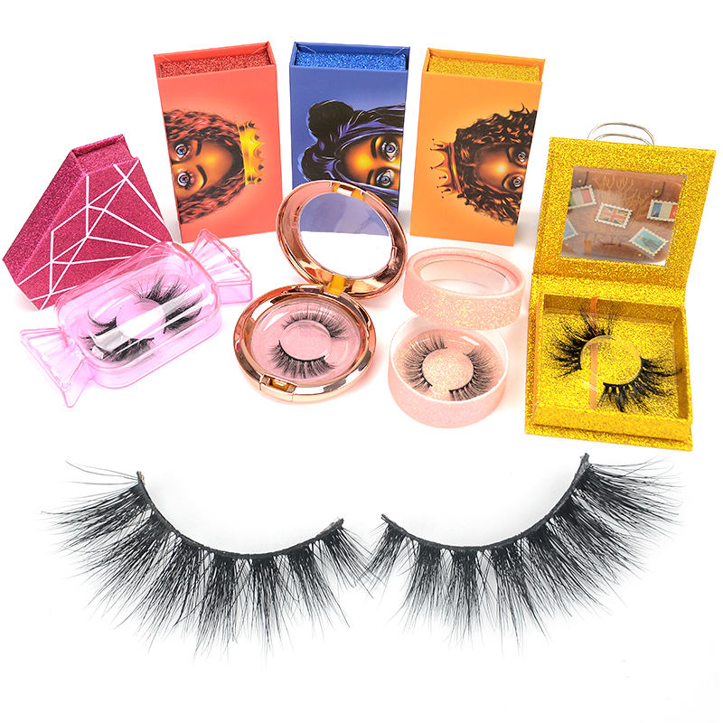 OEM high quality eyelash manufacturer Wholesale makeup product 25mm eyelashes 3d mink lashes