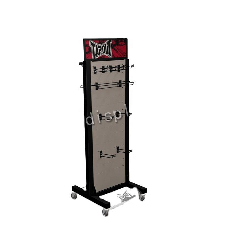 China made cheap metal retail display racks/clothing display racks