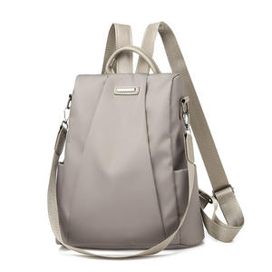 Women Female Backpack Classic PU Leather Solid Color Backpacks Fashion Shoulder Bag Travel bags