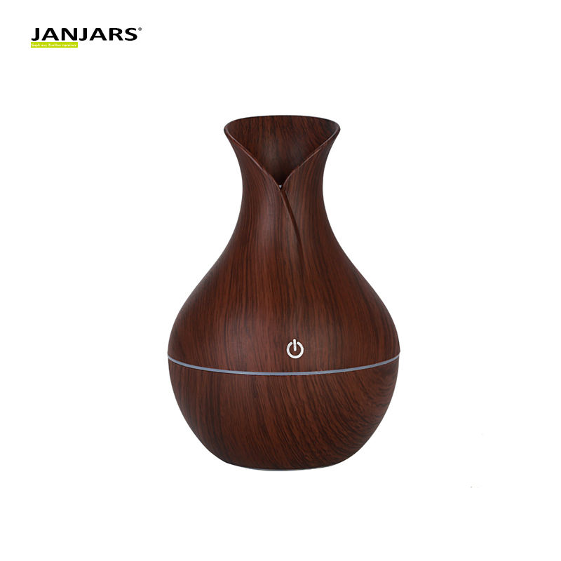130ml Classic USB Electric Aroma air diffuser wood Ultrasonic air humidifier Essential oil Aromatherapy cool mist maker for home