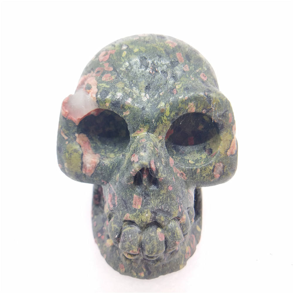 Wholesale high quality hand-carved natural quartz crystal skulls
