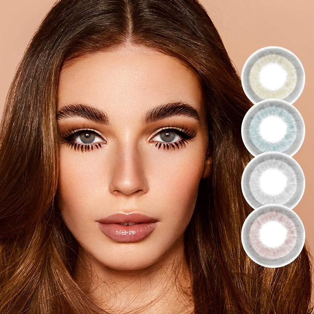 HIDROCOR cheap color contact lenses top quality Hollywood color contact lens 4 colors Balloon model