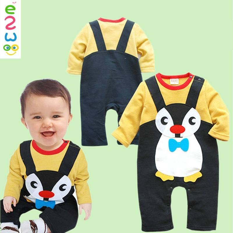 Cute Cotton Infant Clothes Newborn Baby Rompers For Wholesale Online