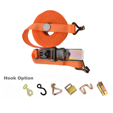 "Top Quality Supplier 2"" USA Type Ratchet Belt Strap with J/ E Track/ S/ Plate Hook"