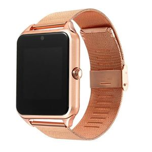 Hotsale Bluetooth Smart Watch in Z60 Donne Degli Uomini Orologio Da Polso Bluetooth 2G Supporto SIM/Carta di TF Orologio Da Polso PK A1 W8 GT08 A1