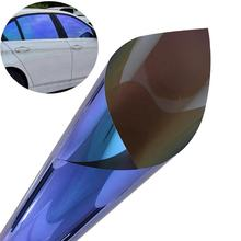 UV block chameleon car color change wrap vinyl film car modification tint blue to purple solar car window tint film