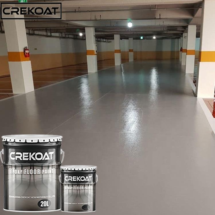 Professional manufacturer supply self leveling epoxy flooring industrial epoxy floor paint heavy duty epoxy resin floor paint