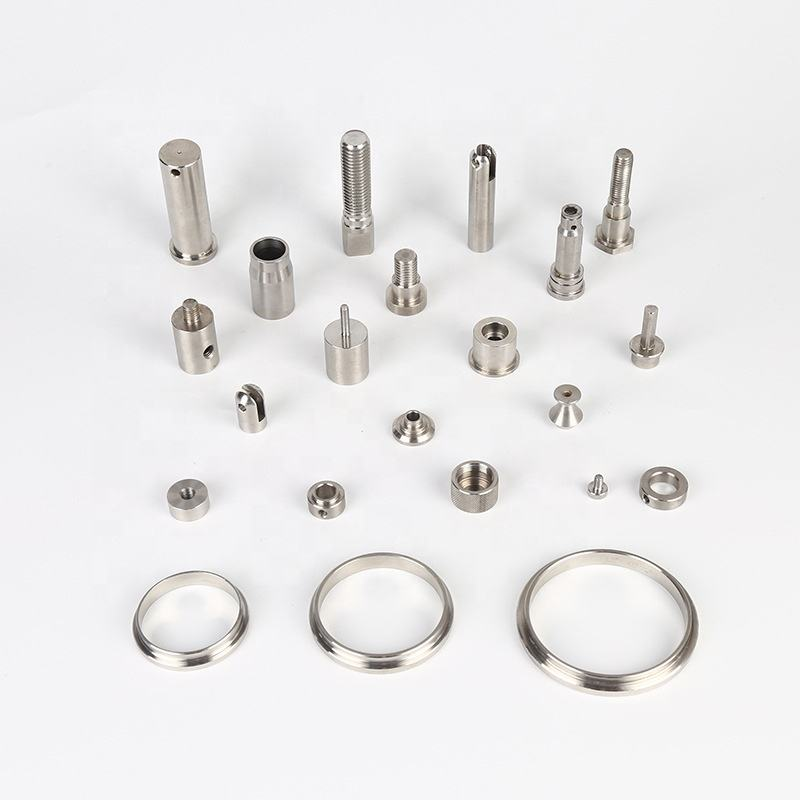 China wholesale custom high precision spare accessories metal aluminum cnc machined turning milling machining parts