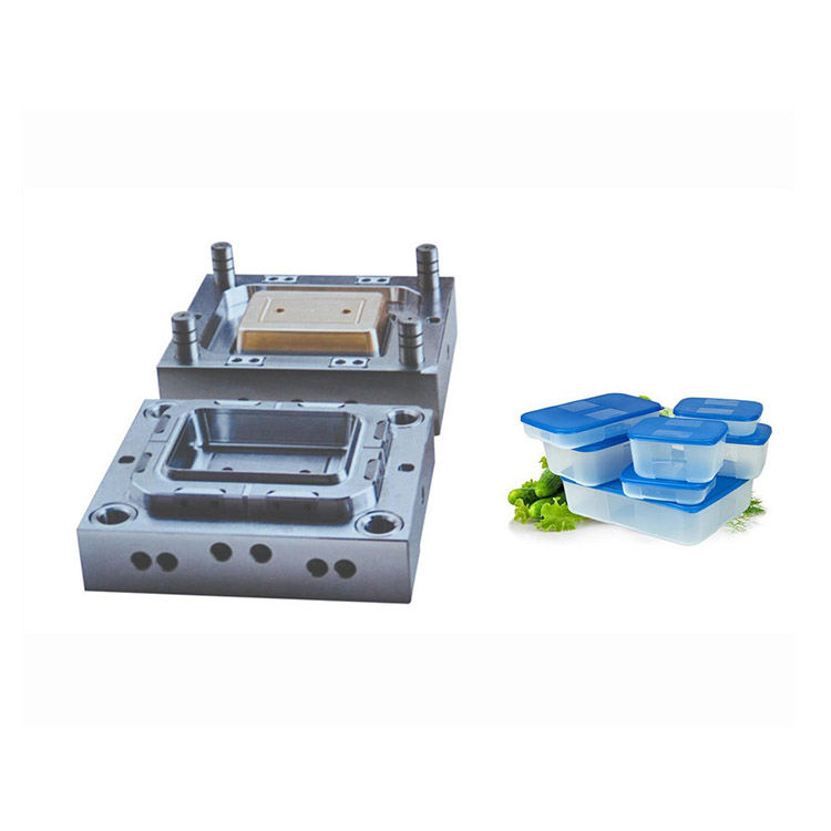 Plastic lunch box injection molding food grade plastic molds
