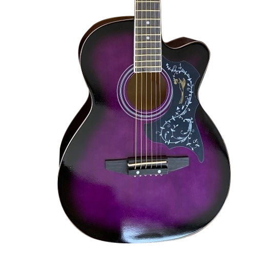 Aiersi practice OEM colourful acoustic guitar fast delivery for beginners