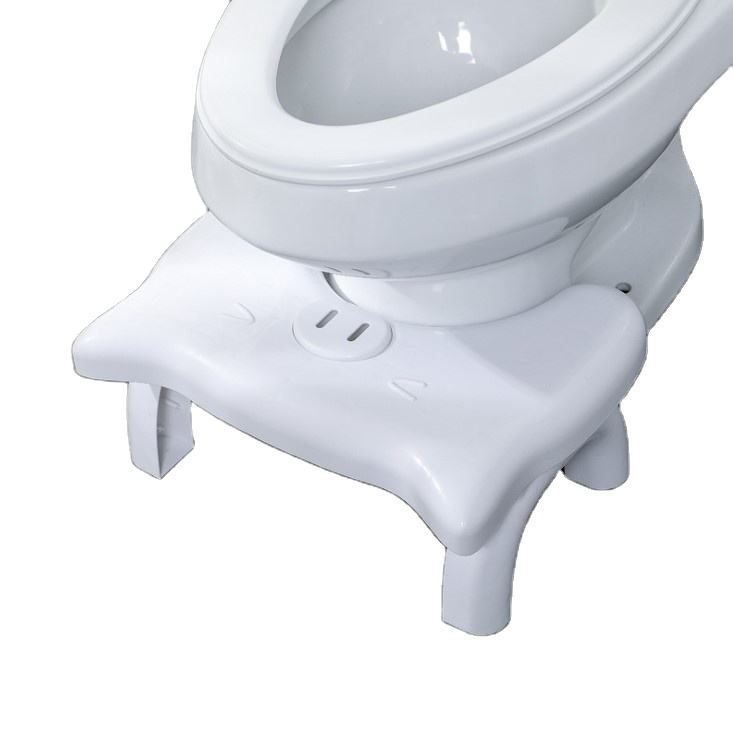 Amazon Wholesale Stocked High Quality Plastic Folding Toilet Stool