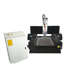 3D cnc carving marble granite machine/China Jinan CNC Stone Letter Engraving Machine