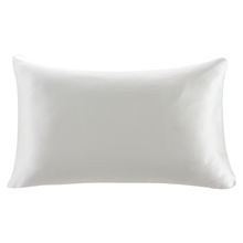 16mm 19mm 22mm 25mm 30mm Plain Dyed Pattern and Plaid Style Wholesale Bamboo white 100% Silk mulberry Pillowcase
