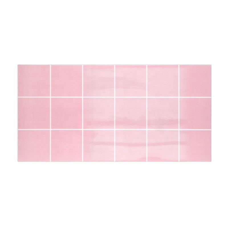 Pink Tile 300X600 Bathroom Bedroom Color Bright Lattice Glazed Background Ceramic Wall Tile
