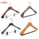 Custom Different Effect Fashion Brand Luxury Wooden Suit Top Hangers Manufacturer