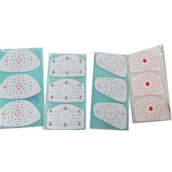 Golf practice swing training impact labels golf impact tape for driver woods and irons