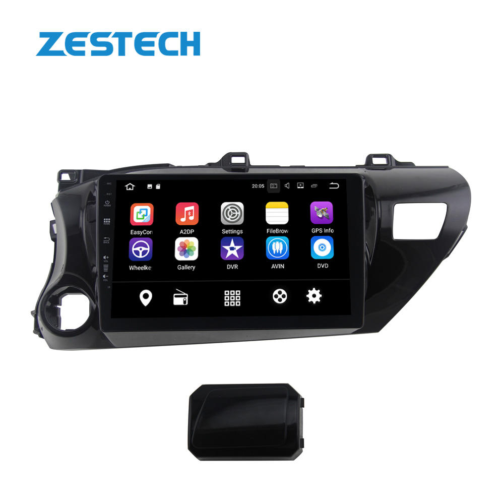 ZESTECH Android 10.0 Stereo Dell'automobile per Toyota Hilux 2017 con audio video Multimedia System 1 din